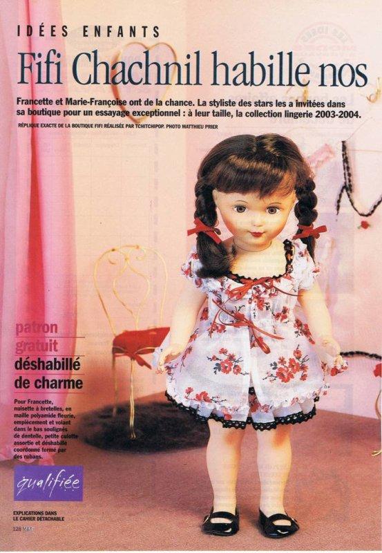 Modes et Travaux, Décembre 2003
