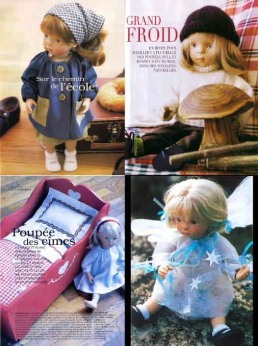 """Poupée de la revue """"Idée Magazine"""""""