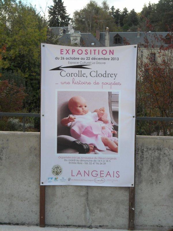 Visite de l'exposition Corolle à Langeais