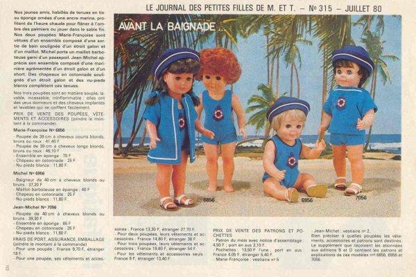 Modes et Travaux, juillet 1980