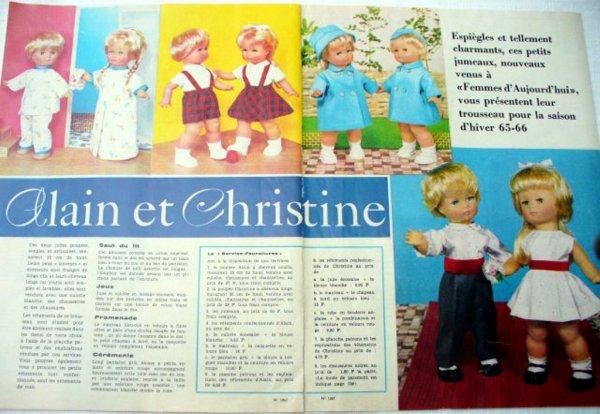 """Alain et Christine de la revue """"Femmes d'aujourd'hui"""""""