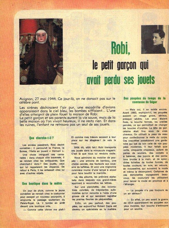 Revue Lisette du 11 juin 67