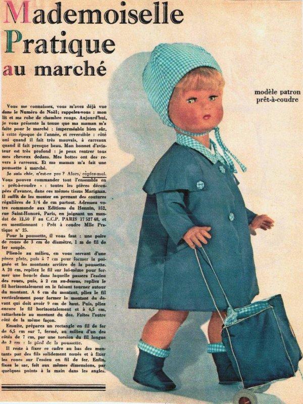 Poupées de la revue Femme pratique