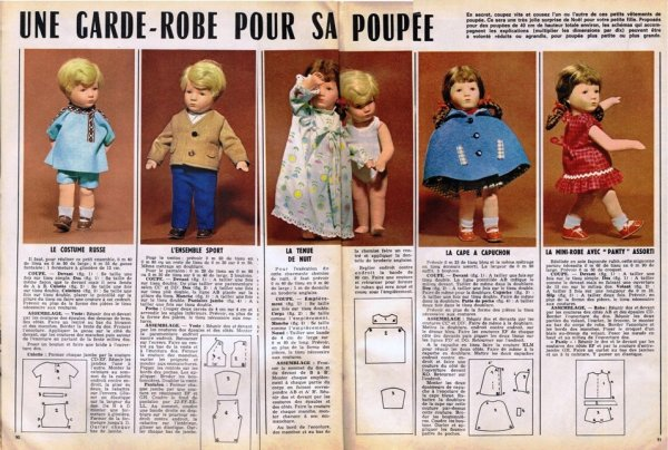 Modes de Paris nov 1967 N°988