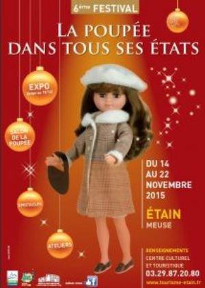 """Festival """"La poupée dans tous ses états"""" à Etain (55)"""