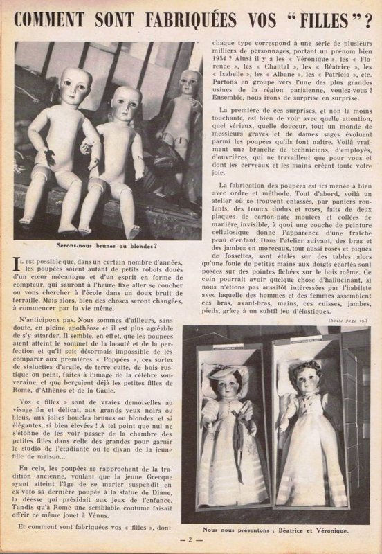 Article album Lisette