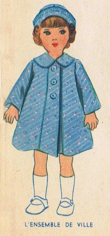 Le manteau de Marie Claire
