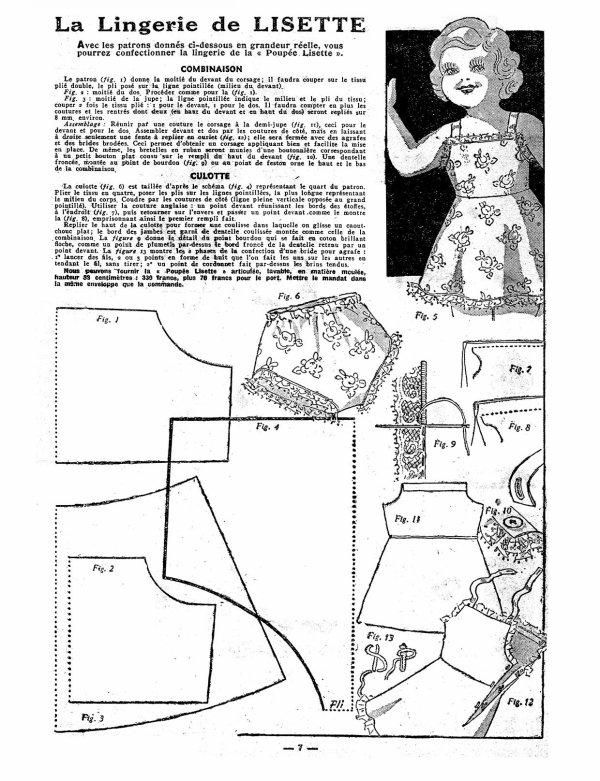La lingerie de Lisette (18 janvier 1948)
