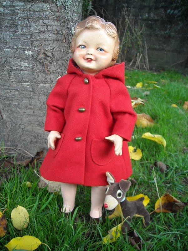 Manteau à capuchon du 16-10-1949