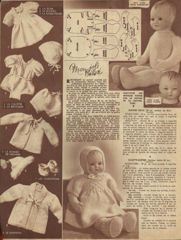 """Mon Joli Bébé"", Femmes d'aujourd'hui 1948-1950"