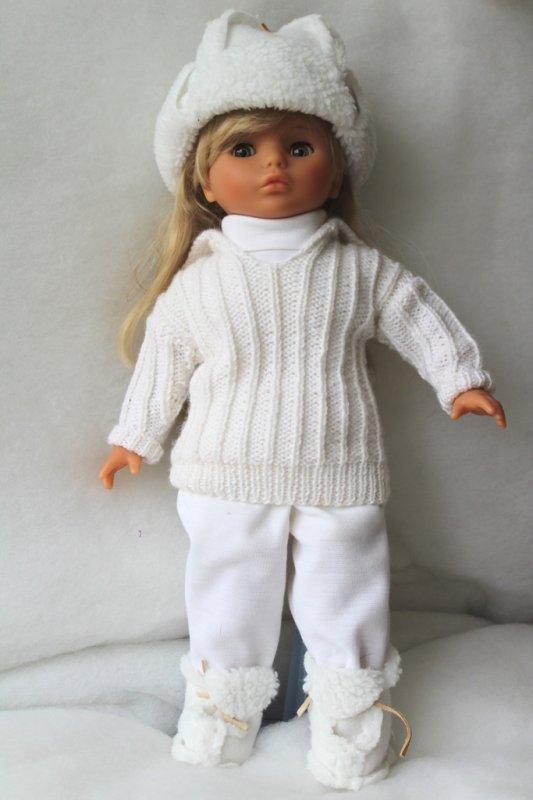 Tatiana en hiver