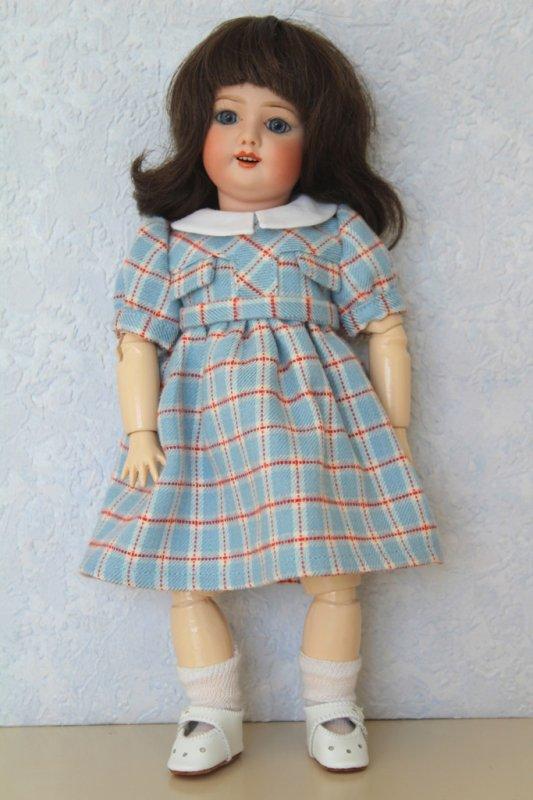 Bleuette, repro robe Mascotte 1955-56