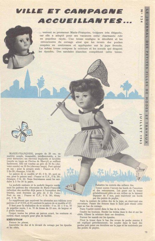 M&T Juillet 1963, ma version