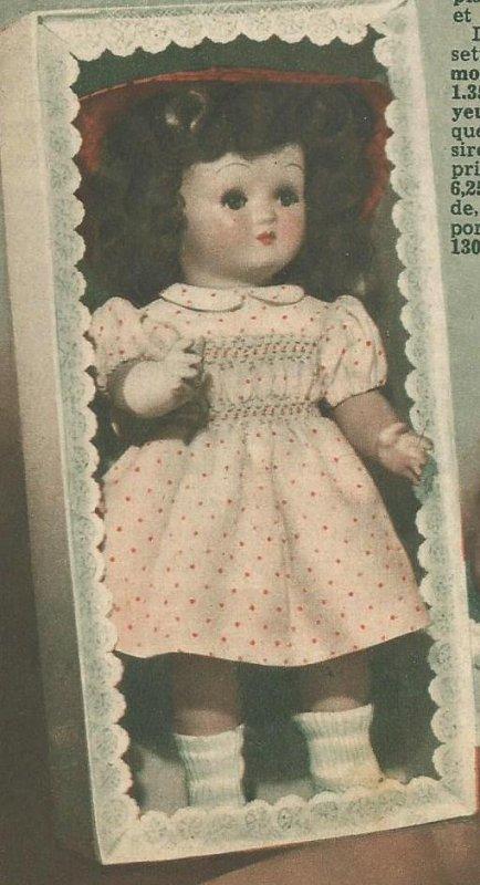 Femmes d'Aujourd'hui, robe du 01/11/1951