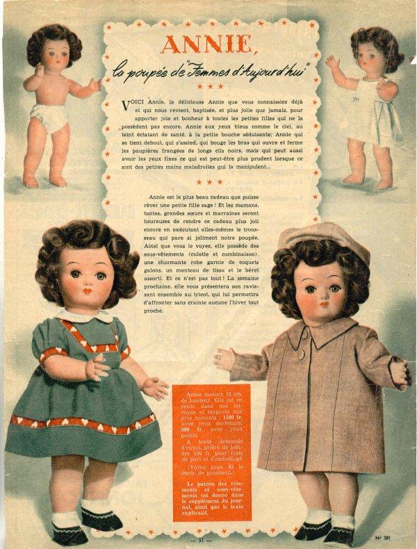 Femmes d'Aujourd'hui, 01 11 1952