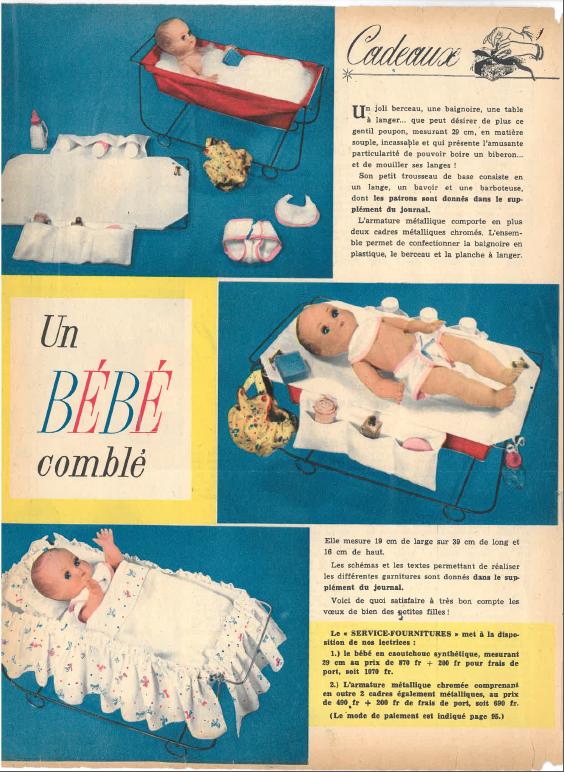 Pascal , un bébé comblé (nov 58)