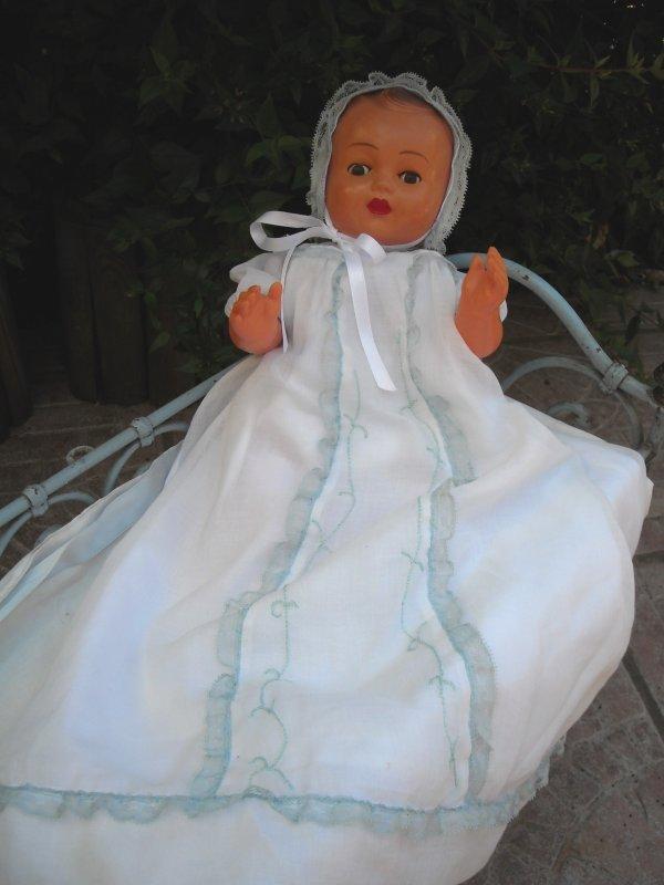 Françoise au baptême de Michel