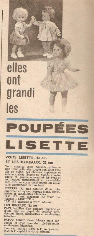 Lisette, années 61-62