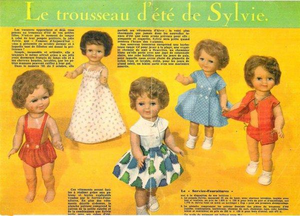 Le trousseau d'été de Sylvie (14-05-1959)
