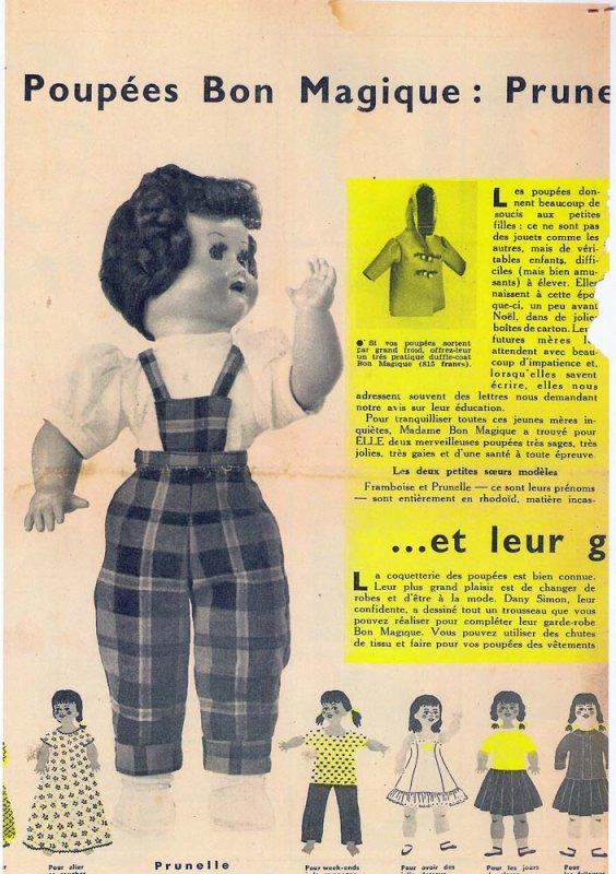 Prunelle ??? (Magazine ELLE)
