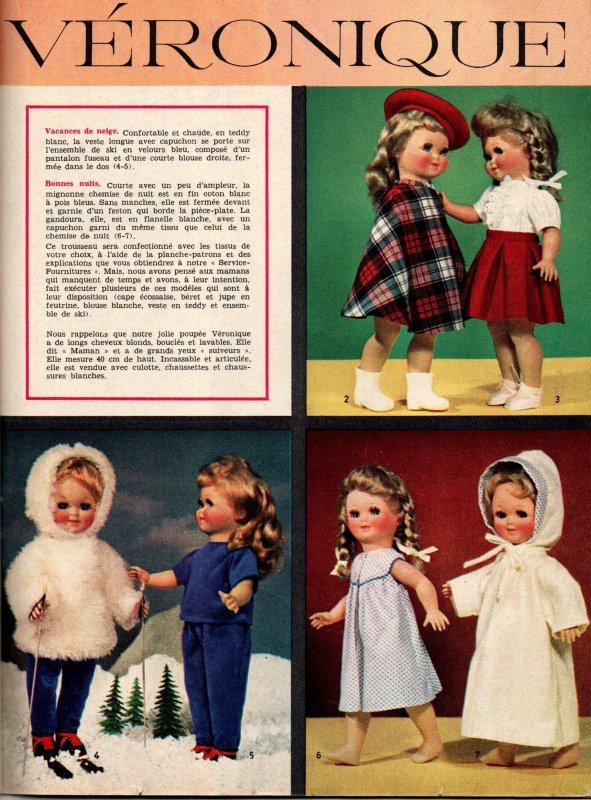 Véronique, Femmes d'aujourd'hui 10-10-1963