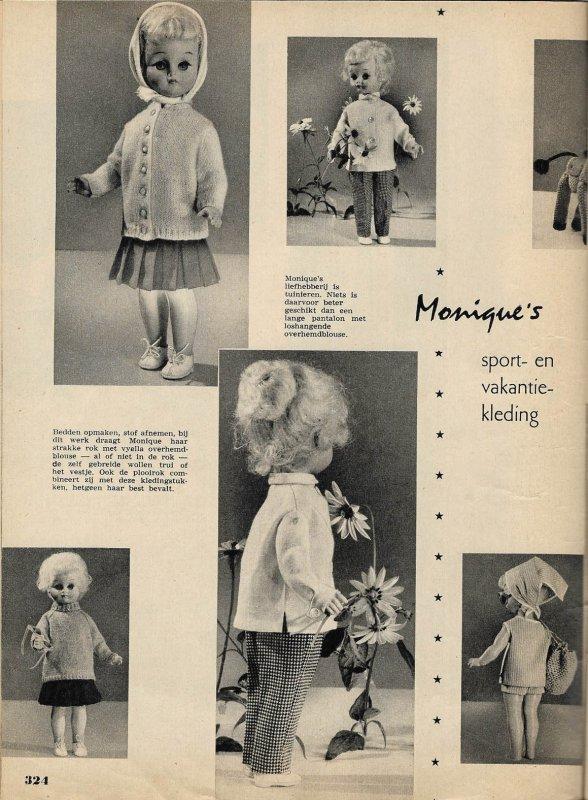 Le trousseau de Monique (magazine Ariadne. Oct 1961)