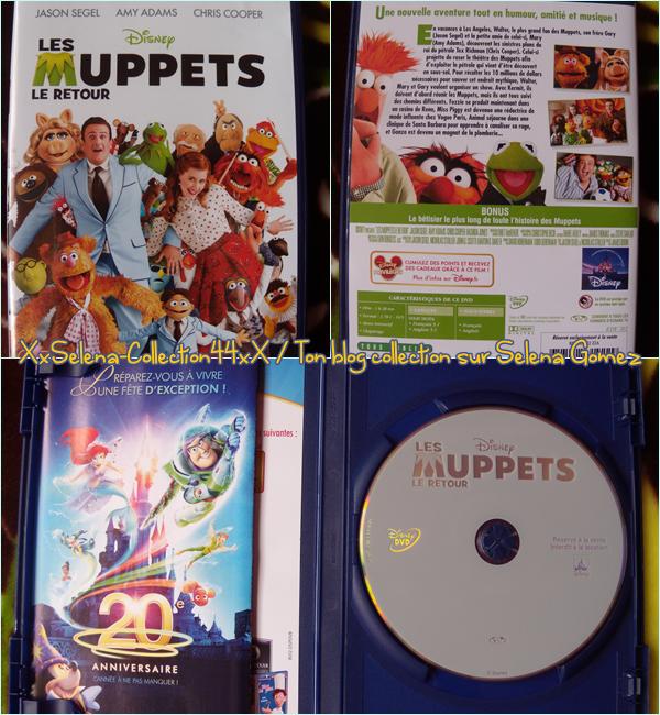 """DVD """" Les Muppets , le retour """""""