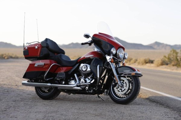 HD Electra Glide.  On the Road