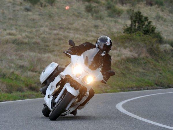 Guzzi Norge, mon ancienne moto.
