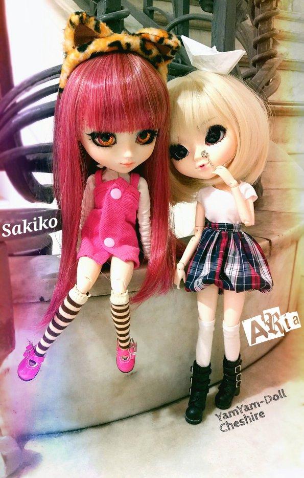 Sakiko et Aria