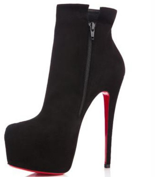 Closed Toe Black Booties 160mm Size 41 For Sale