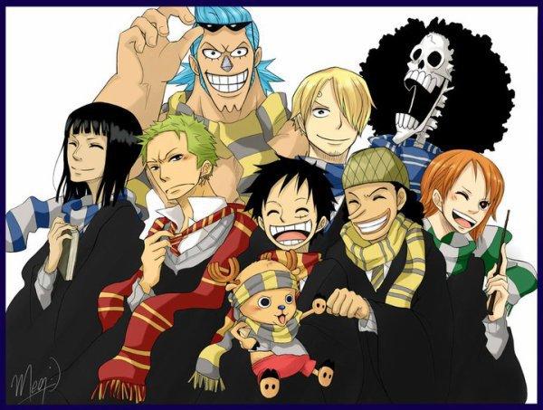 One Piece version Harry Potter
