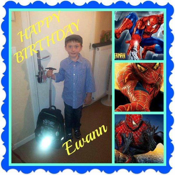 Joyeux anniversaire mon fils