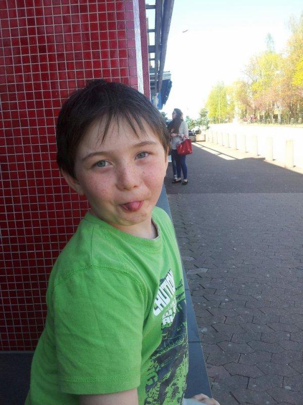 Mon fils mon amour ma vie !!