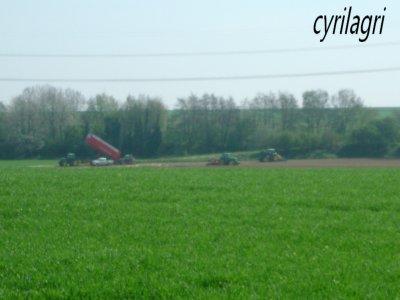 plantation pomme de terre 2011
