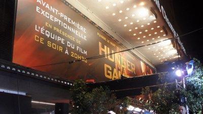 Avant première Hunger Games du 15/03/2012 aux Champs Elysées