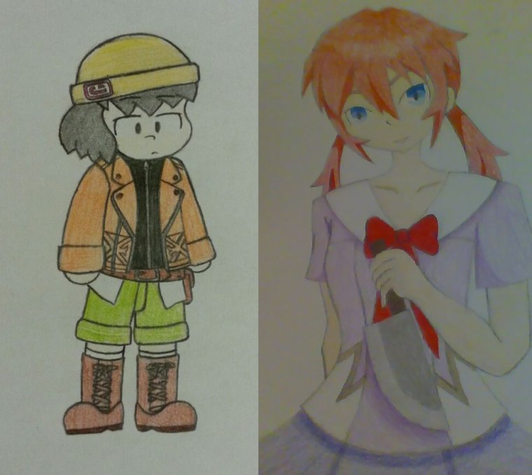 Le théâtre de Raimon : Mirai Nikki , Chap 1 ( avec Zibi-game )