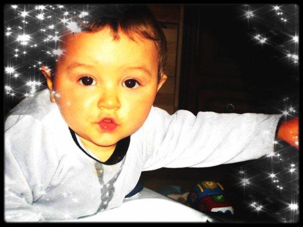 Les 8 mois de mon bébé :)