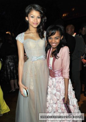 zendaya coleman et china anne maclen au NAACP image awards