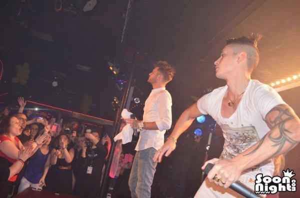 Keen'V & Nawaach au Moulin Rose (76) Le 03/01/14