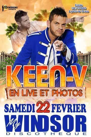Keen'v en Live au Windsor le 22/02/14 à Bergerac dans le (24)