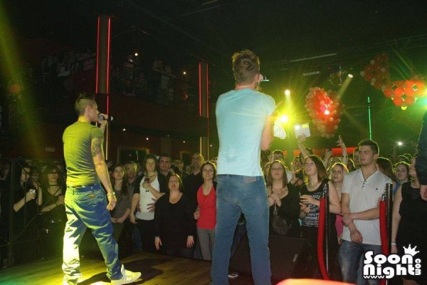 Keen'V & Nawaach au Piper's Le 15.02.2014 En Belgique