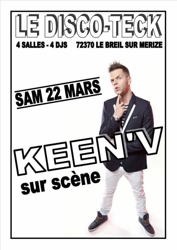 Keen'v en show-case au Le Disco Teck le 22/03/2014 (72)