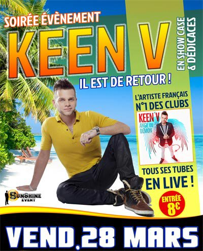Keen'v en show-case au Le Macumba le 28/03/2014  (59)