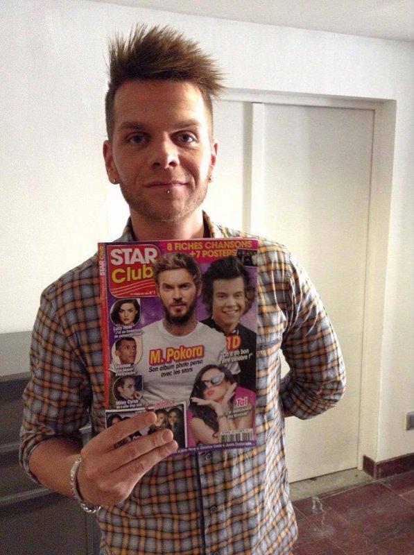 Keen'v avec le new magazine Star Club
