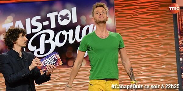 Keen'v dans l'émission Canapé Quizz sur TMC se soir à 22h25