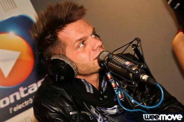 Keen'v sur la radio Contact le 28/03/2014