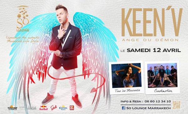 Keen'v en show-case au SO Night Lounge le 12/04/2014