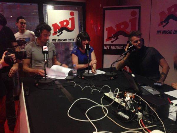 Keen'V Sur NRJ Pour L'anniversaire De Cauet Le 28.04.2014