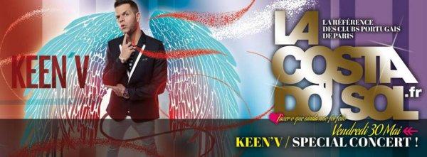 Keen'v en Show-case le 30/05 à La Costa